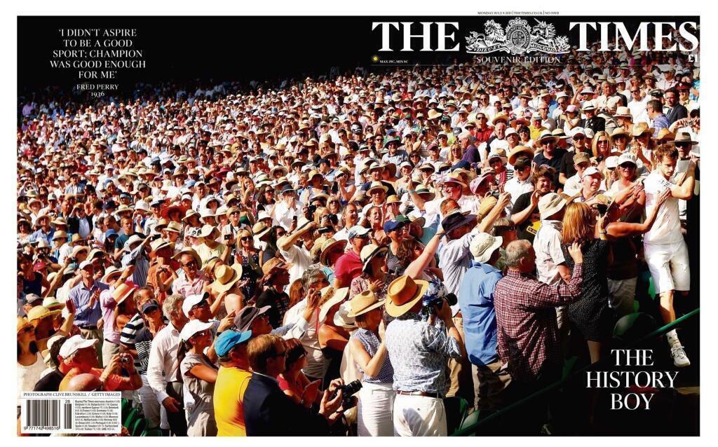 the times murray wimbledon